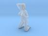 2016008-Ponytail girl 1:24 3d printed