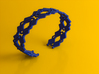 Diamond and pearls bracelet 3d printed Diamond and pearls bracelet (Royal Blue Strong & Flexible)
