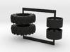 16.9-34 drive tires 3d printed