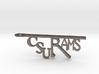 CSU Rams Bottle Opener Keychain 3d printed
