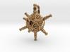 Circogonia Icosahedral Radiolarian Pendant 3d printed