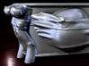 Cash Box Mag-Latch BOTTOM (requires top) 3d printed Cash box render, closeup.