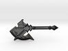 Darkblade Axe 3d printed