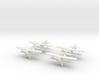 1/200 Polikarpov I-15 Chato (x4) 3d printed