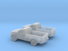 1/148 2X 2015 Toyota Hilux 3d printed