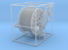 1/50th Cable Reel Spool Trailer 3d printed