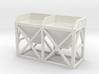 N Scale Concrete Plant Hopper 22mm 3d printed