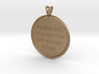 Believe you can | Quote Necklace, Pendant 3d printed