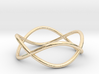 Size 10 Infinity Ring 3d printed