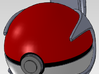Clip for little Pokeball 3d printed Appearence of the clip with the little Pokéball
