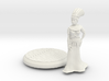 28mm Cleopatra with base 3d printed