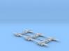 Caproni Ca.314B (In flight) 1/700 3d printed
