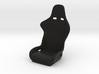 1/10 Scale Recaro Seat 3d printed