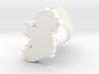 Sligo Cufflink 3d printed