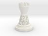 Chess shaped Dice (hollow) 3d printed
