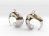 Enso No. 1 Earrings 3d printed
