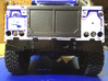 Defender Rear Bumper - All Options 3d printed Surface sanded smooth and painted black.