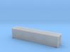 45' Hi Cube ISO Container (N Gauge 1:148) 3d printed