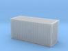 20' Hi Cube ISO Container (N Gauge 1:148) 3d printed
