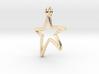 Star Pendant B 3d printed