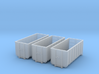 N Scale 3x ACTS Container #2 3d printed