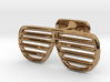 Sunglasses Cufflink 3d printed