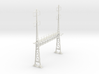 PRR S Scale Lattice Anchor Bridge With Bracket 3d printed