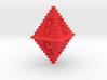 d8 Pixel Pyramid 3d printed