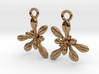 Arabidopsis Rosette Earrings  3d printed