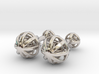 Spheres Cufflinks 3d printed