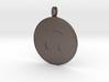 Upside Down Emoji Keychain 3d printed