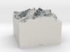 Mt. Everest, China/Nepal, 1:100000 Explorer 3d printed
