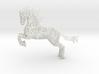 Rocinante horse sculpture - Customized 3d printed Rocinante horse sculpture in White Natural Versatile Plastic