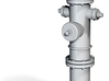 1:48 Fire Hydrant - Mimesis Model 1930 3d printed