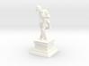 Mozart with Violin Mini Statue 3d printed
