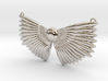 Winged Messenger Neckpiece 3d printed