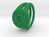Green lantern ring 3d printed