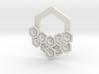 Hex Pendant 3d printed