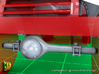 M5 Halftrack conversion with M5A1 Lights 3d printed M5 with M5A1 lights - front axle