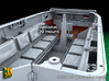 M5 Halftrack conversion with M5A1 Lights 3d printed M5 with M5A1 lights - crew compartment