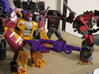 Menasor Brace Cannons 3d printed Dragstrip, shooting from the hip..