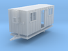 Construction Trailer 1-87 HO Scale FUD 3d printed