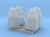 Dalek02 (4) N 160:1 Scale 3d printed