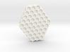 Hexa stamp tool 3d printed