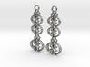 Good Ol' Heart Earrings (Stars) 3d printed