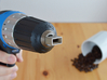 Coffee Grinder Bit For Drill Driver CDS-S 3d printed Set image (Drill chuck)