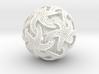 Voronoi Stars Lampshade 3d printed
