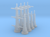 Radar Towers 2x4 Large 3d printed