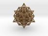 Sacred Geometry: 64 Grid Tetrahedron 35x1mm 3d printed