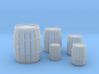 Wooden Barrels Kit 3d printed